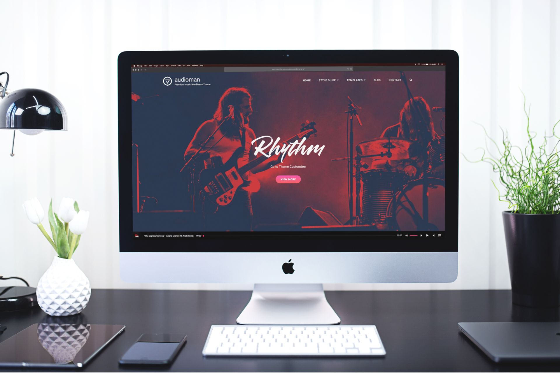 Introducing Audioman Pro – Music WordPress Theme for Musicians and Bands
